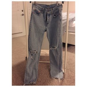 """levis """"wedgie fit"""" high waisted jeans"""